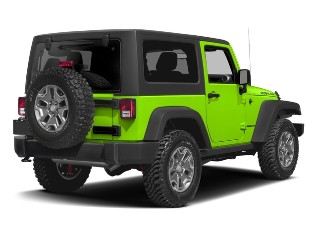 Hypergreen Clearcoat 2016 Jeep Wrangler Pictures Wrangler Utility 2D Rubicon 4WD V6 photos rear view