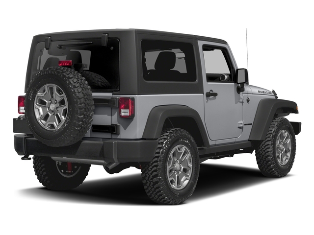 Billet Silver Metallic Clearcoat 2016 Jeep Wrangler Pictures Wrangler Utility 2D Rubicon 4WD V6 photos rear view