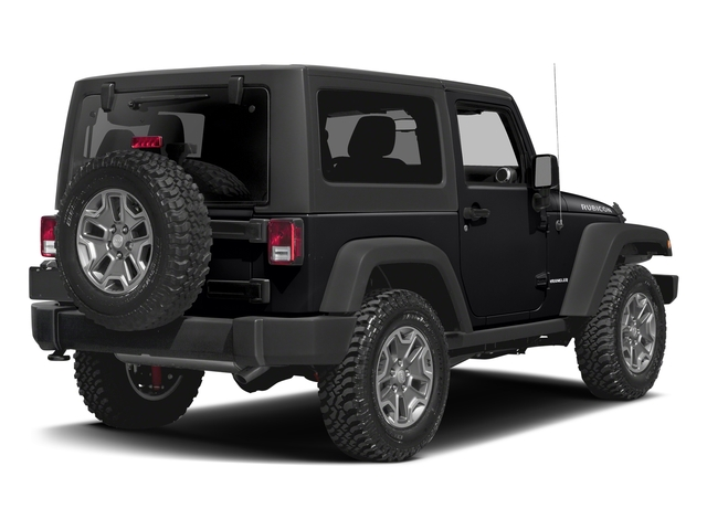 Black Clearcoat 2016 Jeep Wrangler Pictures Wrangler Utility 2D Rubicon 4WD V6 photos rear view