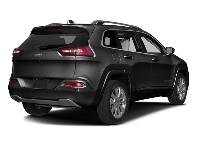Brilliant Black Crystal Pearlcoat 2016 Jeep Cherokee Pictures Cherokee Utility 4D Overland 2WD photos rear view