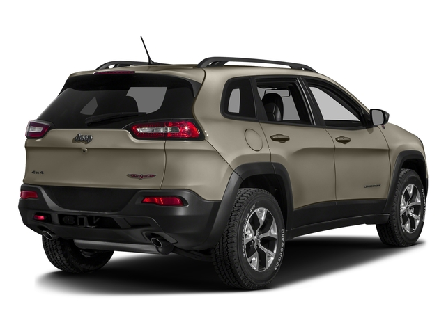 Light Brownstone Pearlcoat 2016 Jeep Cherokee Pictures Cherokee Utility 4D Trailhawk 4WD photos rear view