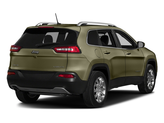 Eco Green Pearlcoat 2016 Jeep Cherokee Pictures Cherokee Utility 4D Limited 2WD photos rear view