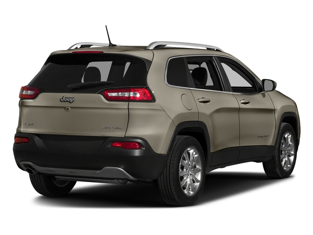 Light Brownstone Pearlcoat 2016 Jeep Cherokee Pictures Cherokee Utility 4D Limited 2WD photos rear view