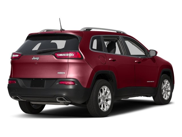 Deep Cherry Red Crystal Pearlcoat 2016 Jeep Cherokee Pictures Cherokee Utility 4D Latitude 4WD photos rear view
