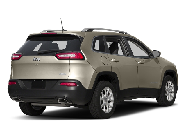 Light Brownstone Pearlcoat 2016 Jeep Cherokee Pictures Cherokee Utility 4D Latitude 4WD photos rear view