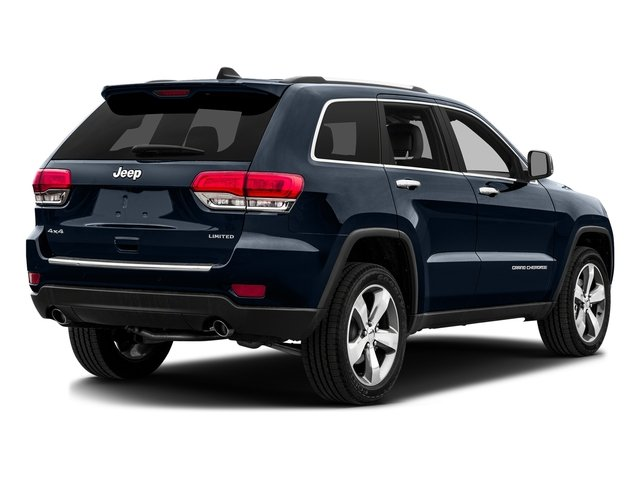 True Blue Pearlcoat 2016 Jeep Grand Cherokee Pictures Grand Cherokee Utility 4D Limited 2WD photos rear view