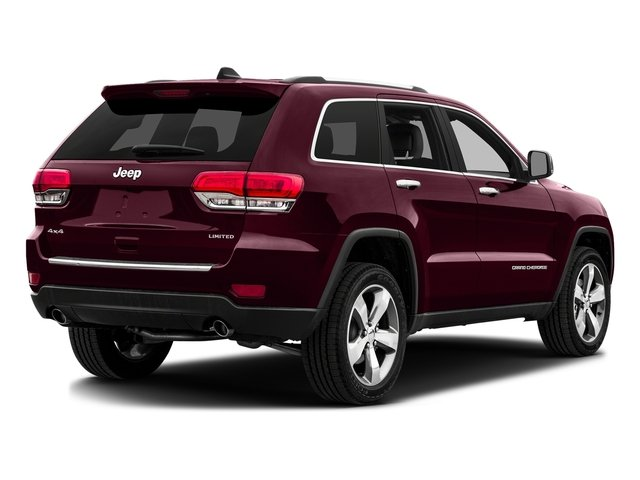 Velvet Red Pearlcoat 2016 Jeep Grand Cherokee Pictures Grand Cherokee Utility 4D Limited 2WD photos rear view