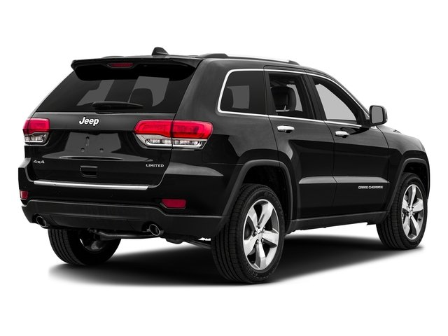 Brilliant Black Crystal Pearlcoat 2016 Jeep Grand Cherokee Pictures Grand Cherokee Utility 4D Limited 2WD photos rear view