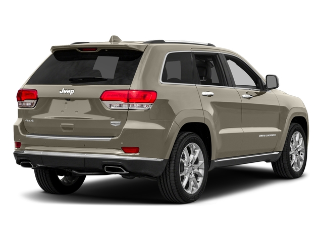Light Brownstone Pearlcoat 2016 Jeep Grand Cherokee Pictures Grand Cherokee Utility 4D Summit Diesel 2WD photos rear view