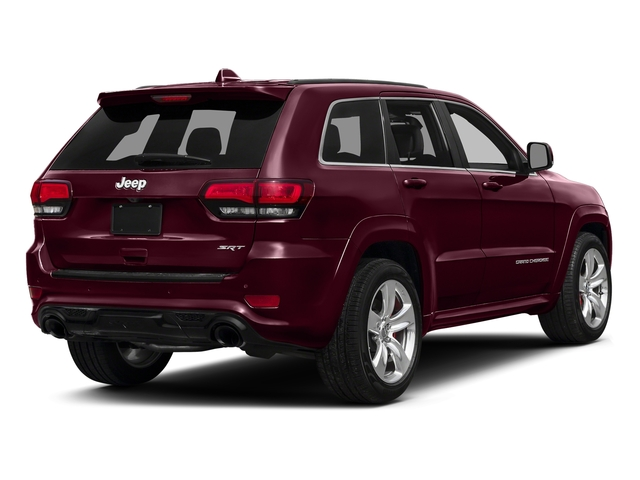 Velvet Red Pearlcoat 2016 Jeep Grand Cherokee Pictures Grand Cherokee Utility 4D SRT-8 4WD photos rear view