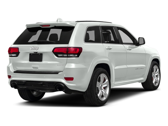 Bright White Clearcoat 2016 Jeep Grand Cherokee Pictures Grand Cherokee Utility 4D SRT-8 4WD photos rear view