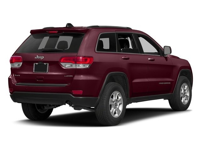 Velvet Red Pearlcoat 2016 Jeep Grand Cherokee Pictures Grand Cherokee Utility 4D Laredo 4WD photos rear view