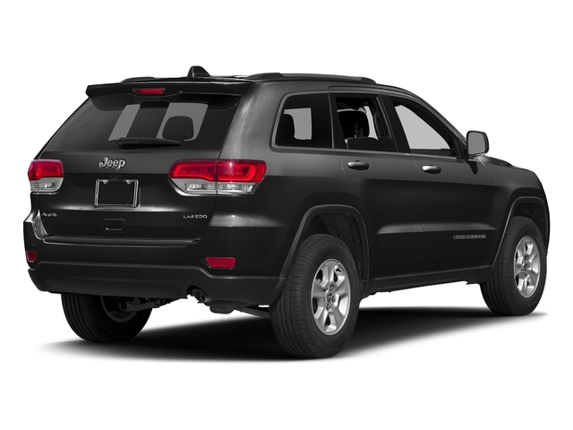 Brilliant Black Crystal Pearlcoat 2016 Jeep Grand Cherokee Pictures Grand Cherokee Utility 4D Laredo 4WD photos rear view