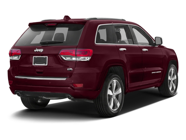Velvet Red Pearlcoat 2016 Jeep Grand Cherokee Pictures Grand Cherokee Utility 4D Overland Diesel 4WD photos rear view