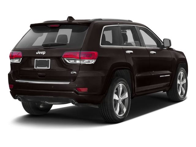 Luxury Brown Pearlcoat 2016 Jeep Grand Cherokee Pictures Grand Cherokee Utility 4D Overland Diesel 4WD photos rear view