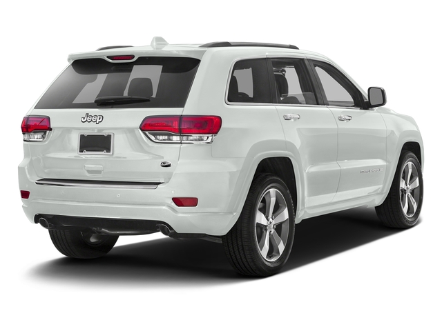 Bright White Clearcoat 2016 Jeep Grand Cherokee Pictures Grand Cherokee Utility 4D High Altitude 2WD photos rear view