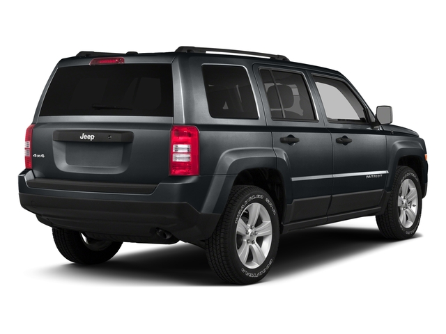Maximum Steel Metallic Clearcoat 2016 Jeep Patriot Pictures Patriot Utility 4D High Altitude 2WD I4 photos rear view