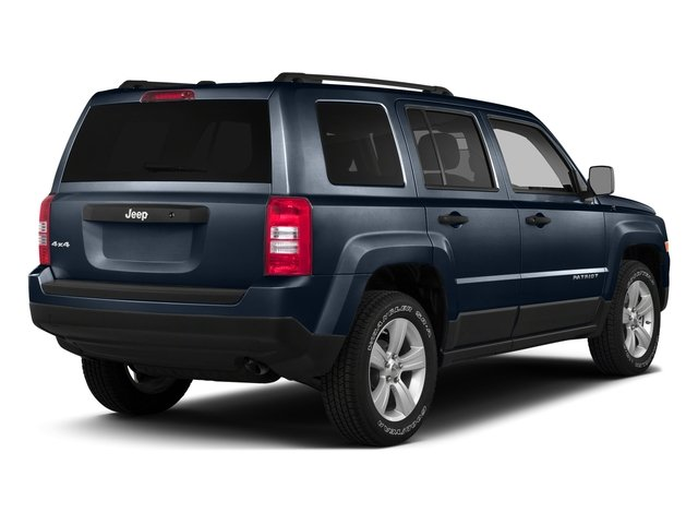 True Blue Pearlcoat 2016 Jeep Patriot Pictures Patriot Utility 4D Latitude 4WD photos rear view