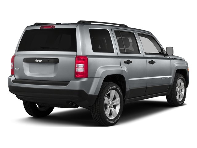 Billet Silver Metallic Clearcoat 2016 Jeep Patriot Pictures Patriot Utility 4D High Altitude 2WD I4 photos rear view