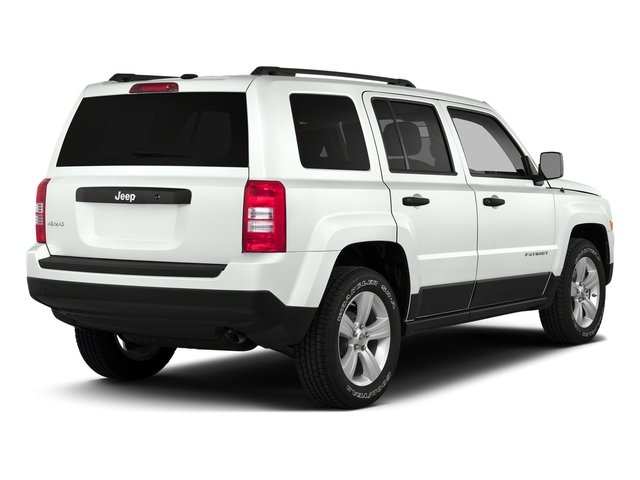 Bright White Clearcoat 2016 Jeep Patriot Pictures Patriot Utility 4D High Altitude 2WD I4 photos rear view