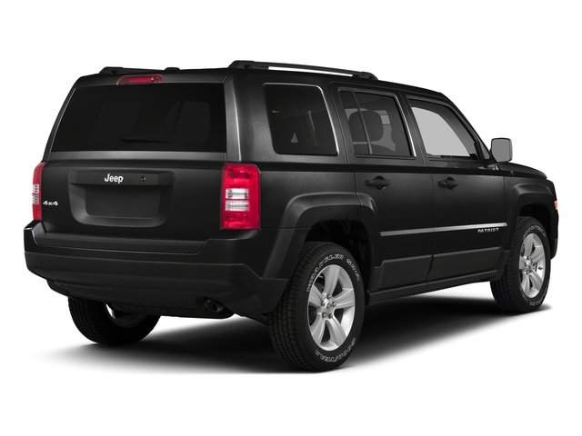 Black Clearcoat 2016 Jeep Patriot Pictures Patriot Utility 4D High Altitude 2WD I4 photos rear view