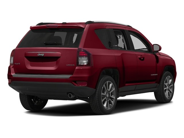 Deep Cherry Red Crystal Pearlcoat 2016 Jeep Compass Pictures Compass Utility 4D Sport 4WD photos rear view
