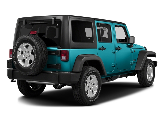 Hydro Blue Pearlcoat 2016 Jeep Wrangler Unlimited Pictures Wrangler Unlimited Utility 4D Unlimited Sport 4WD V6 photos rear view