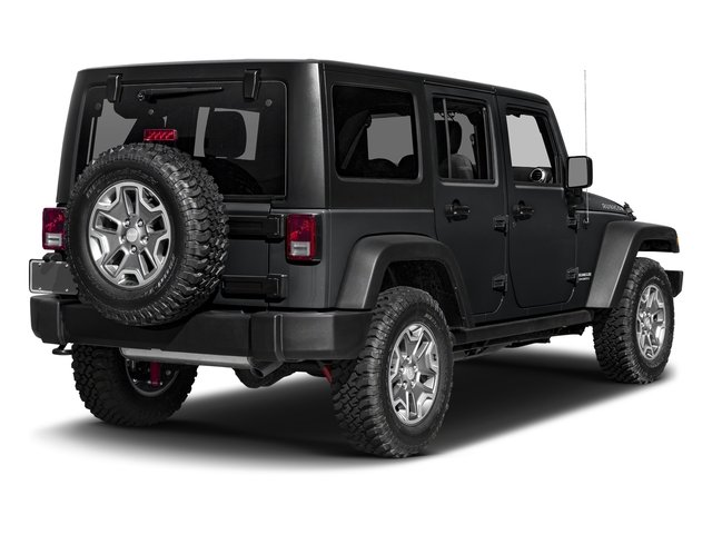 Granite Crystal Metallic Clearcoat 2016 Jeep Wrangler Unlimited Pictures Wrangler Unlimited Utility 4D Unlimited Rubicon 4WD V6 photos rear view
