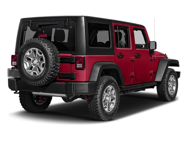 Firecracker Red Clearcoat 2016 Jeep Wrangler Unlimited Pictures Wrangler Unlimited Utility 4D Unlimited Rubicon 4WD V6 photos rear view