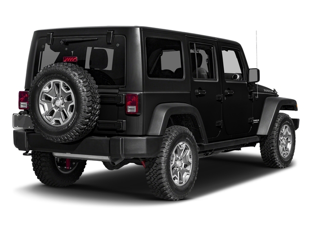 Black Clearcoat 2016 Jeep Wrangler Unlimited Pictures Wrangler Unlimited Utility 4D Unlimited Rubicon 4WD V6 photos rear view