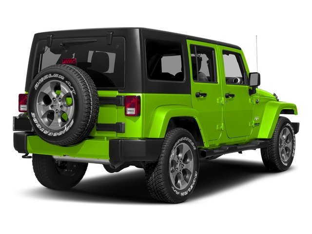 Hypergreen Clearcoat 2016 Jeep Wrangler Unlimited Pictures Wrangler Unlimited Utility 4D Unlimited Sahara 4WD V6 photos rear view