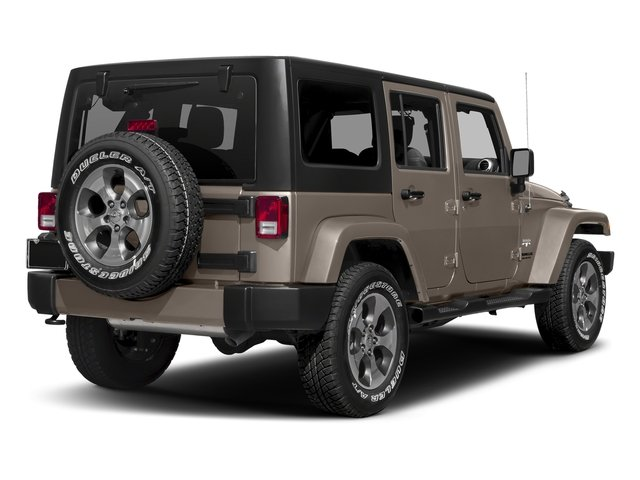 Mojave Sand Clearcoat 2016 Jeep Wrangler Unlimited Pictures Wrangler Unlimited Utility 4D Unlimited Sahara 4WD V6 photos rear view