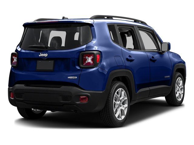 Jetset Blue 2016 Jeep Renegade Pictures Renegade Utility 4D Latitude AWD I4 photos rear view