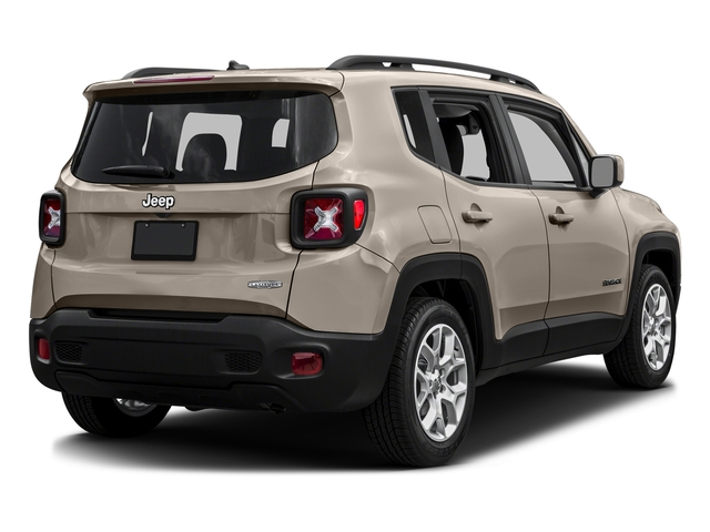 Mojave Sand 2016 Jeep Renegade Pictures Renegade Utility 4D Latitude 2WD I4 photos rear view