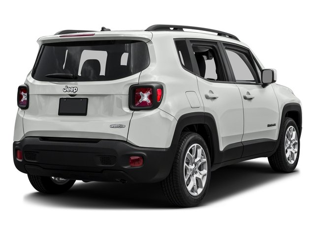 Alpine White 2016 Jeep Renegade Pictures Renegade Utility 4D Latitude 2WD I4 photos rear view