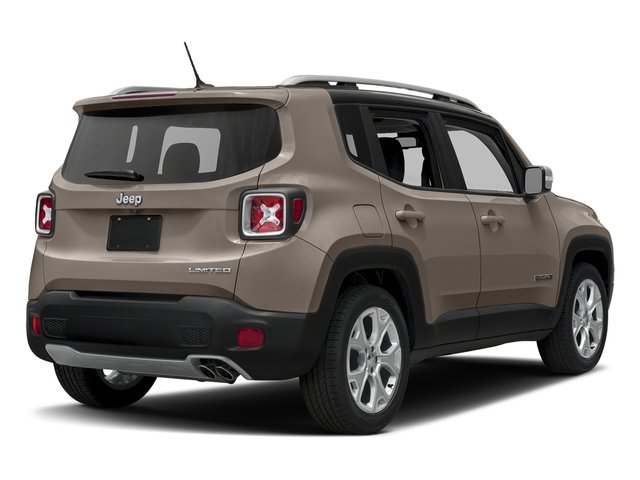 Mojave Sand 2016 Jeep Renegade Pictures Renegade Utility 4D Limited 2WD I4 photos rear view