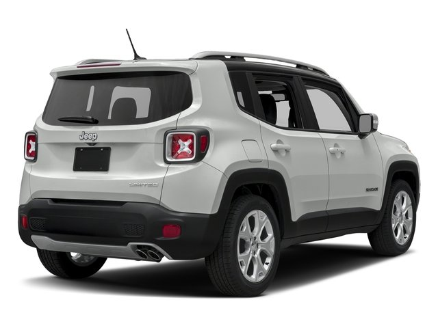 Alpine White 2016 Jeep Renegade Pictures Renegade Utility 4D Limited 2WD I4 photos rear view