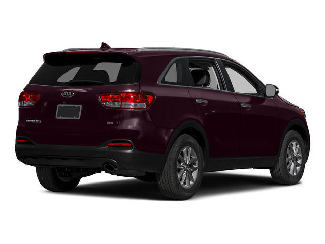 Dark Cherry 2016 Kia Sorento Pictures Sorento Utility 4D LX 2WD V6 photos rear view