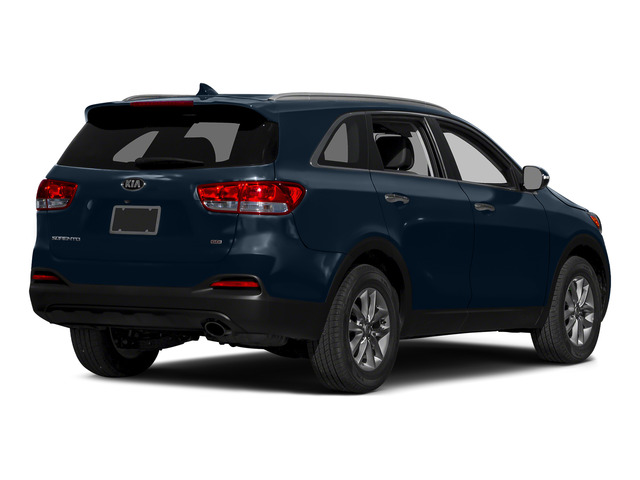 Blaze Blue 2016 Kia Sorento Pictures Sorento Utility 4D LX 2WD V6 photos rear view