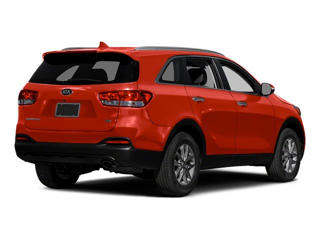 Remington Red 2016 Kia Sorento Pictures Sorento Utility 4D LX 2WD V6 photos rear view