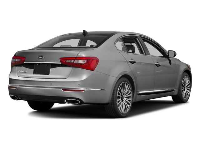 Silky Silver Metallic 2016 Kia Cadenza Pictures Cadenza Sedan 4D Premium V6 photos rear view