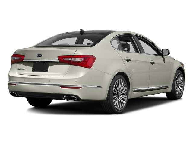 Snow White Pearl 2016 Kia Cadenza Pictures Cadenza Sedan 4D Premium V6 photos rear view
