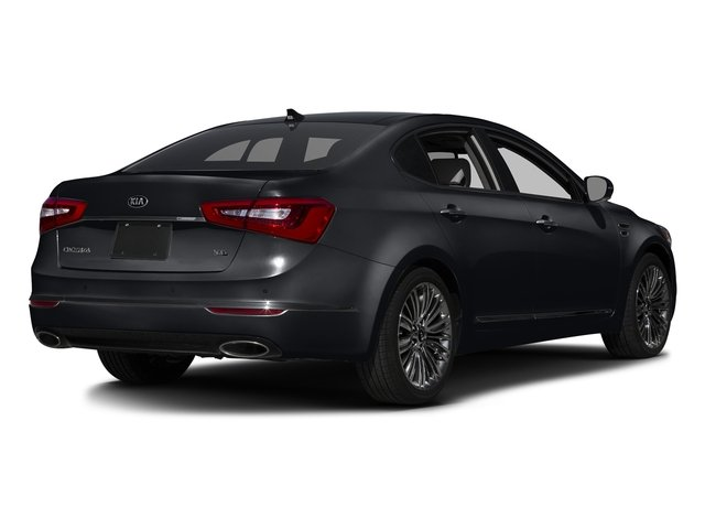Aurora Black Pearl 2016 Kia Cadenza Pictures Cadenza Sedan 4D Limited V6 photos rear view