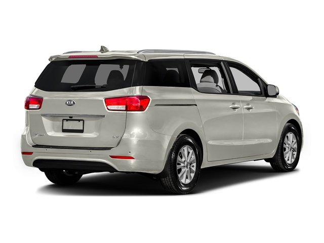 Snow White Pearl 2016 Kia Sedona Pictures Sedona Wagon EX V6 photos rear view