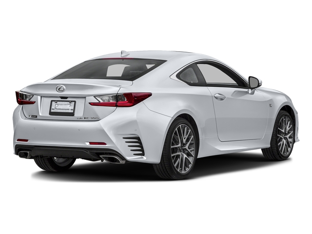 Ultra White 2016 Lexus RC 350 Pictures RC 350 Coupe 2D RC350 AWD V6 photos rear view