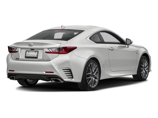 Eminent White Pearl 2016 Lexus RC 350 Pictures RC 350 Coupe 2D RC350 AWD V6 photos rear view