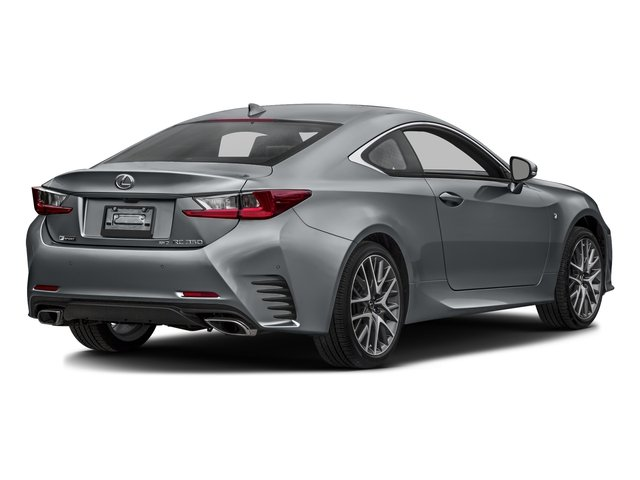 Nebula Gray Pearl 2016 Lexus RC 350 Pictures RC 350 Coupe 2D RC350 AWD V6 photos rear view