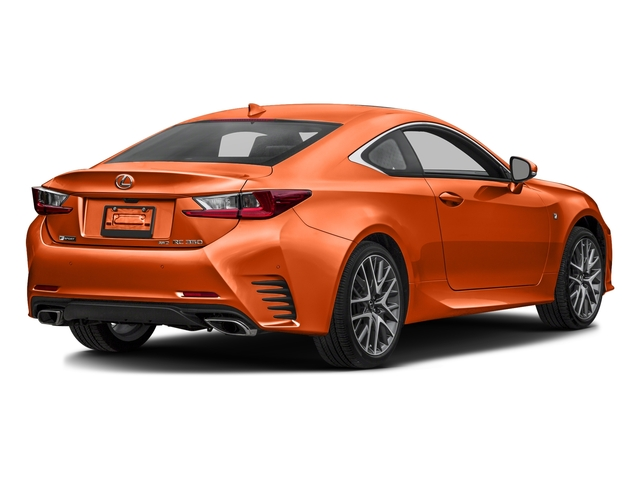 Molten Pearl 2016 Lexus RC 350 Pictures RC 350 Coupe 2D RC350 AWD V6 photos rear view