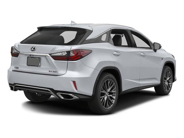 Ultra White 2016 Lexus RX 350 Pictures RX 350 Utility 4D AWD V6 photos rear view