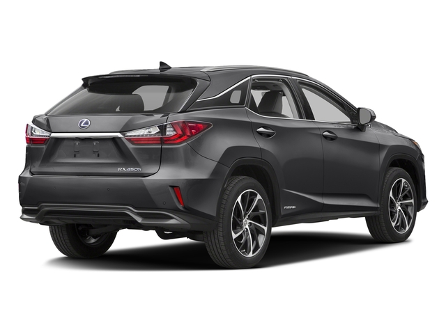 Nebula Gray Pearl 2016 Lexus RX 450h Pictures RX 450h Utility 4D 2WD V6 Hybrid photos rear view